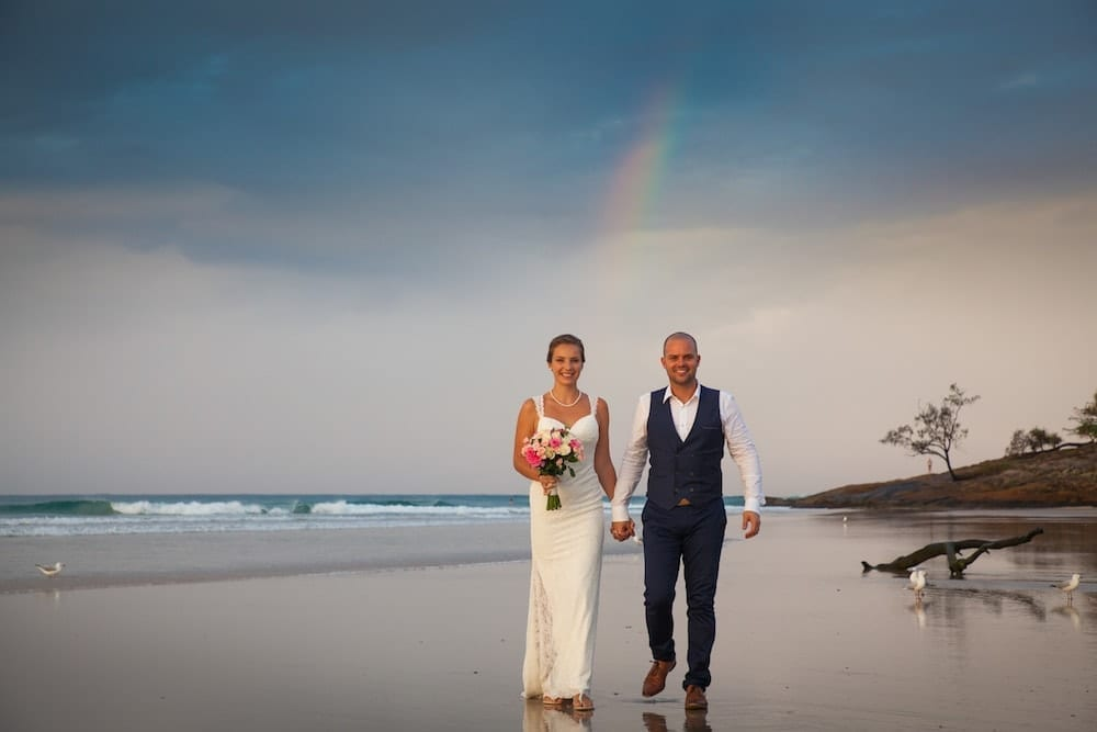 Mr Entertainment Wedding Services Brisbane - Beach Ceremony