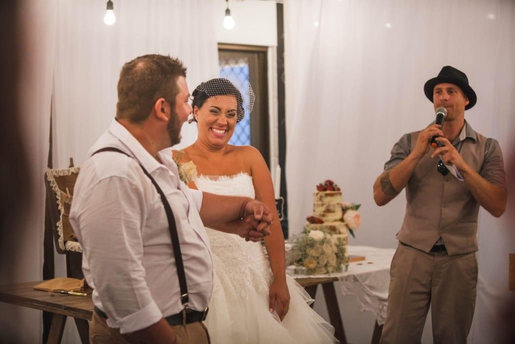 Wedding MC Services Stradbroke Island QLD - Mr Entertainment