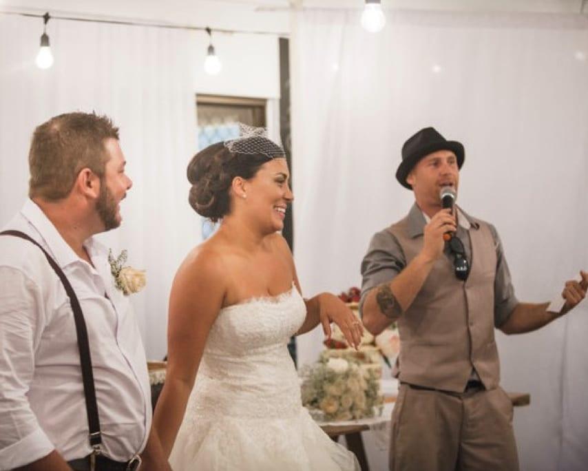 Wedding MC Brisbane - Wedding Entertainment Services